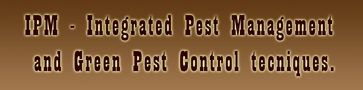 IPM and Green Pest Control